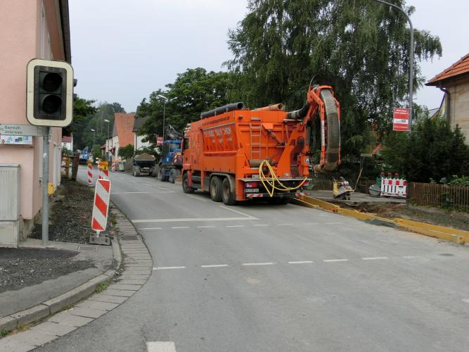 Bauarbeiten OD Altenplos Bild 3