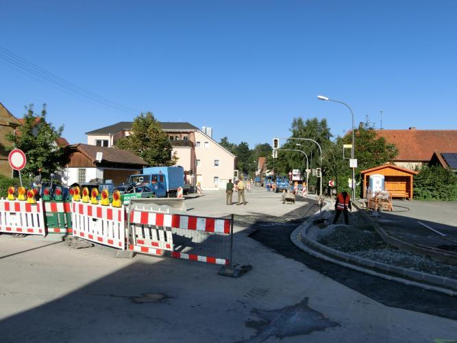Bauarbeiten OD Altenplos Bild 6
