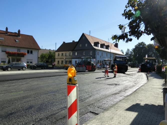 Bauarbeiten OD Altenplos Bild 15