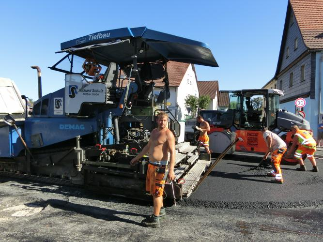 Bauarbeiten OD Altenplos Bild 17