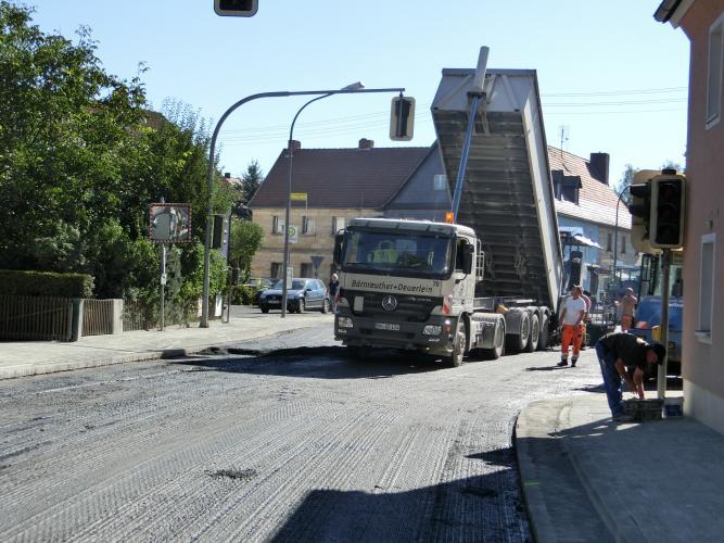 Bauarbeiten OD Altenplos Bild 21