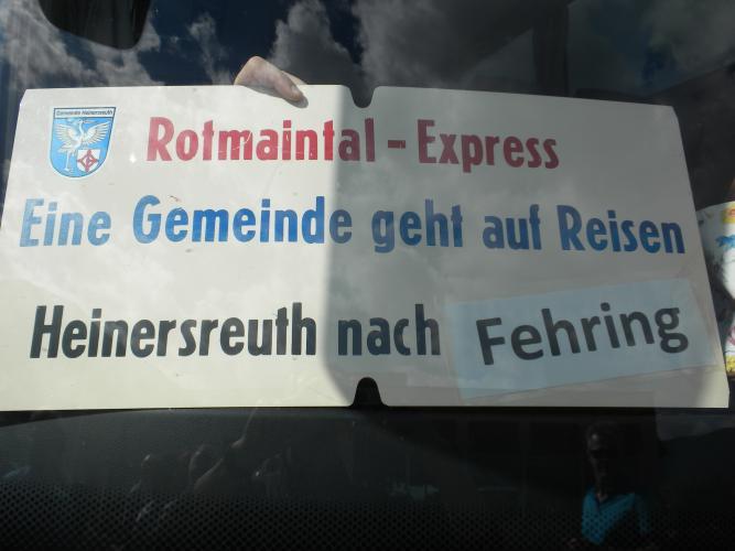 Fehringfahrt 2016 - 25 Jahre Partnergemeinde Bild 2