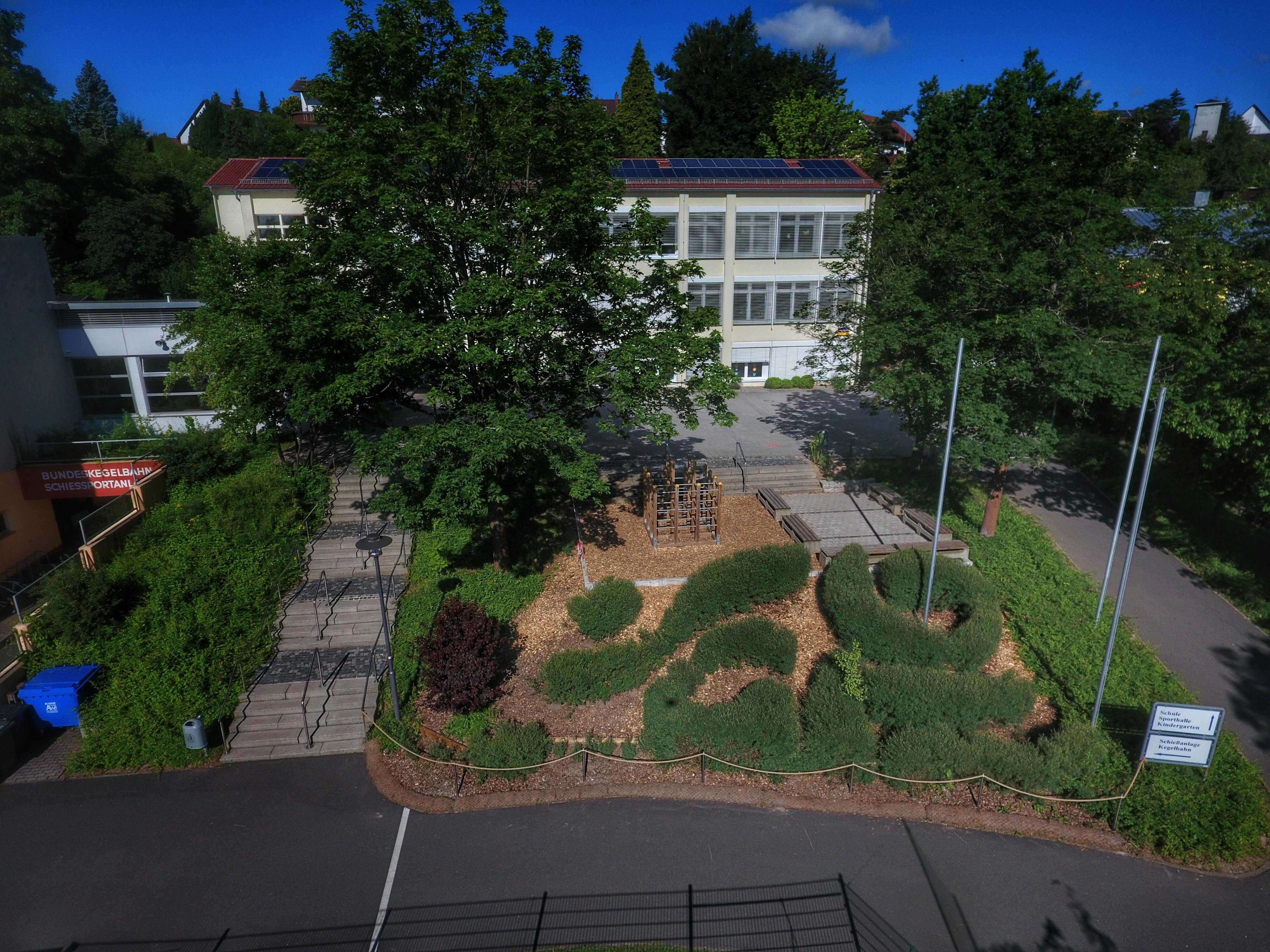 Schule Weidenlabyrinth